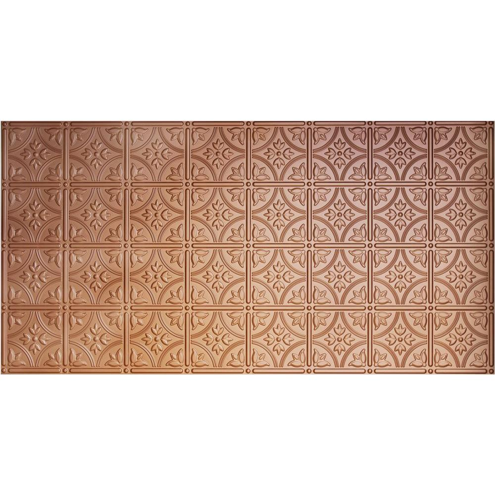 global specialty products dimensions faux 2 ft x 4 ft tin style ceiling and