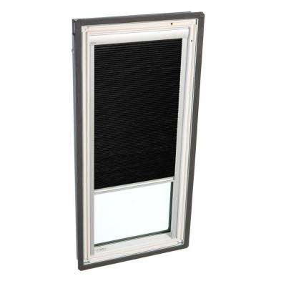 Manual Room Darkening Charcoal Skylight Blinds for FS C04 Models