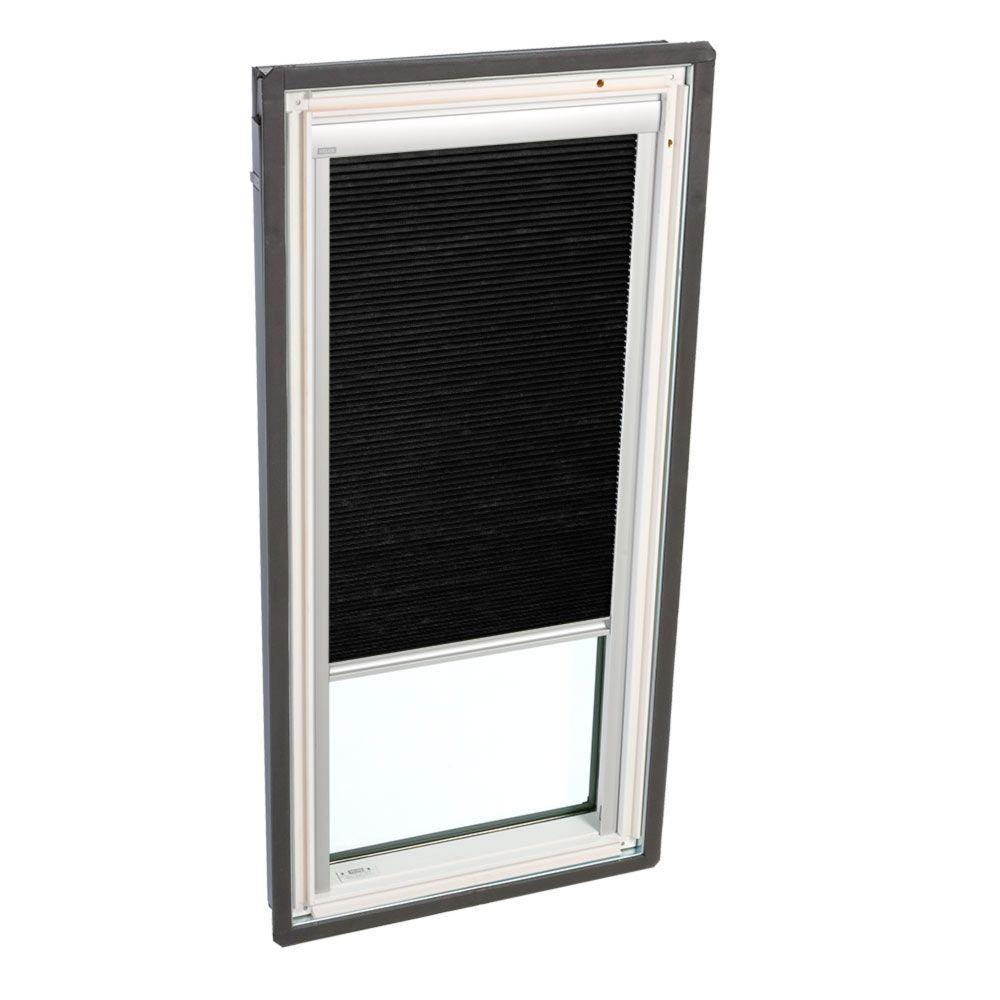 velux manual room darkening charcoal skylight blinds for fs m06 models fhcd m06 1047 the home. Black Bedroom Furniture Sets. Home Design Ideas