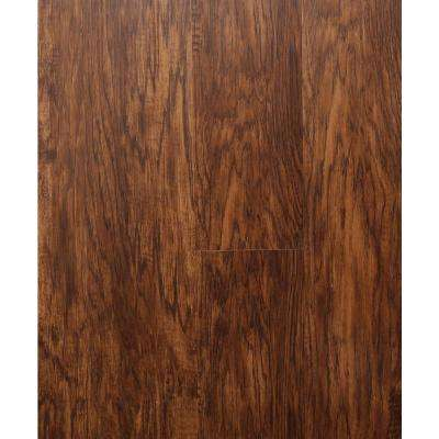 Hydri-Core 5.83 in. x 36 in. Georgian Hickory Embossed HDPC Vinyl Plank (17.48 sq. ft. / case)