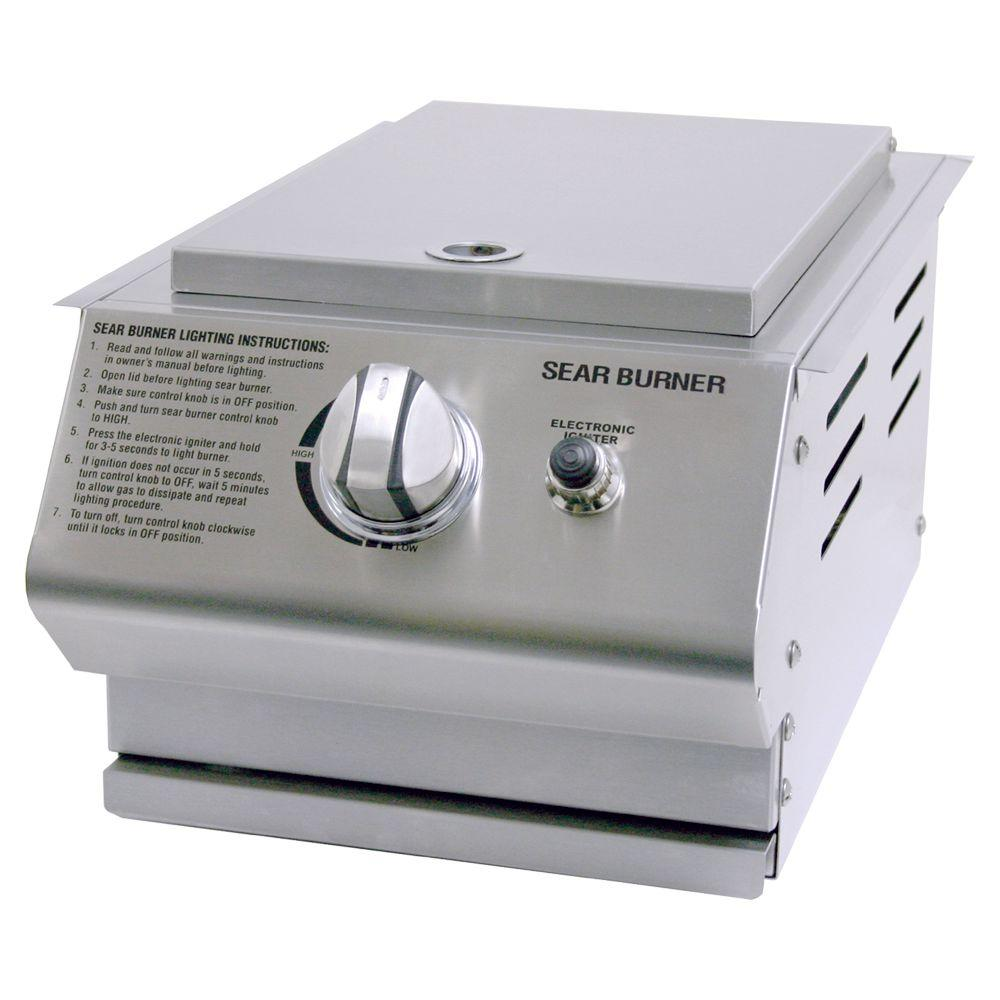 Charmglow Stainless Steel Built-In Propane Gas Sear Burner