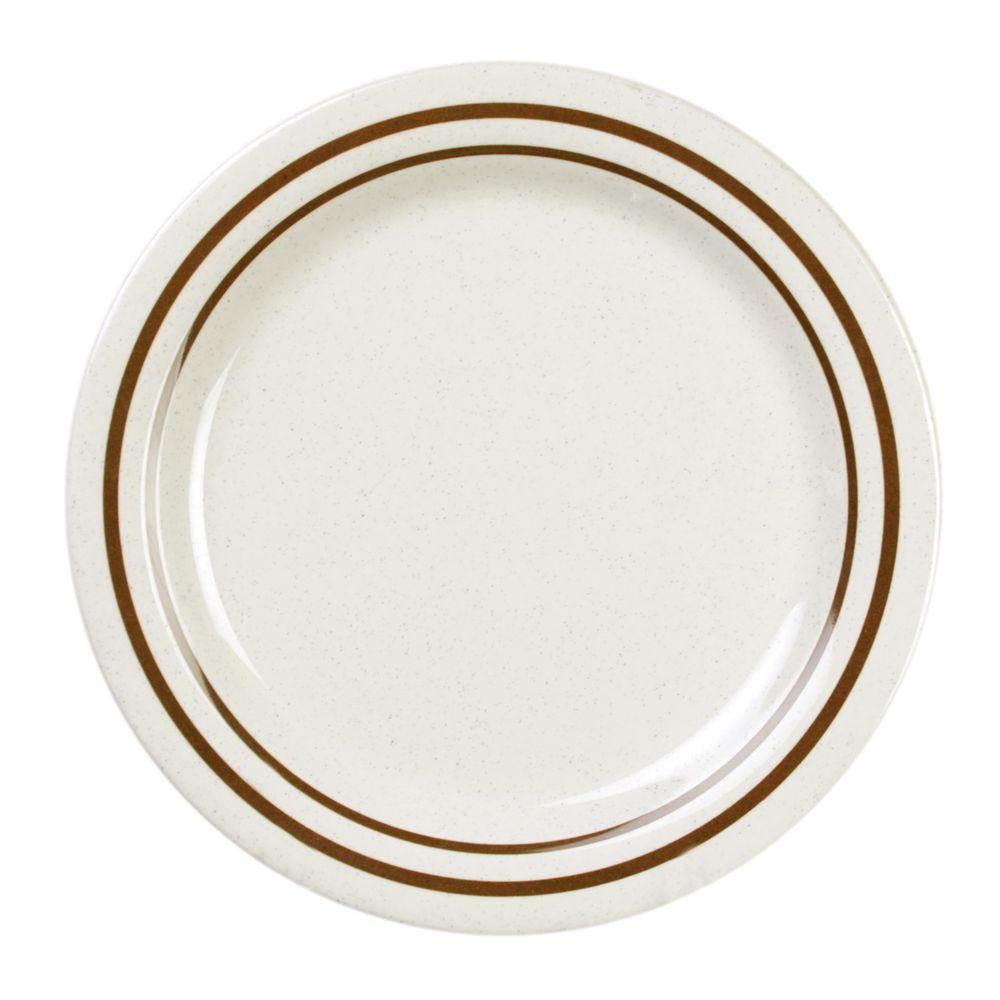 Restaurant Essentials Arcacia 9 in. Dinner Plate (12-Piece)