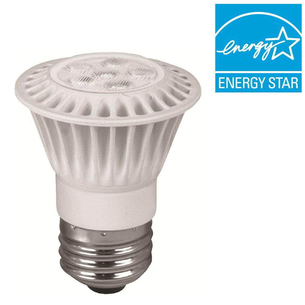 TCP 35W Equivalent Soft White (2700K) PAR16 Dimmable LED Flood Light Bulb