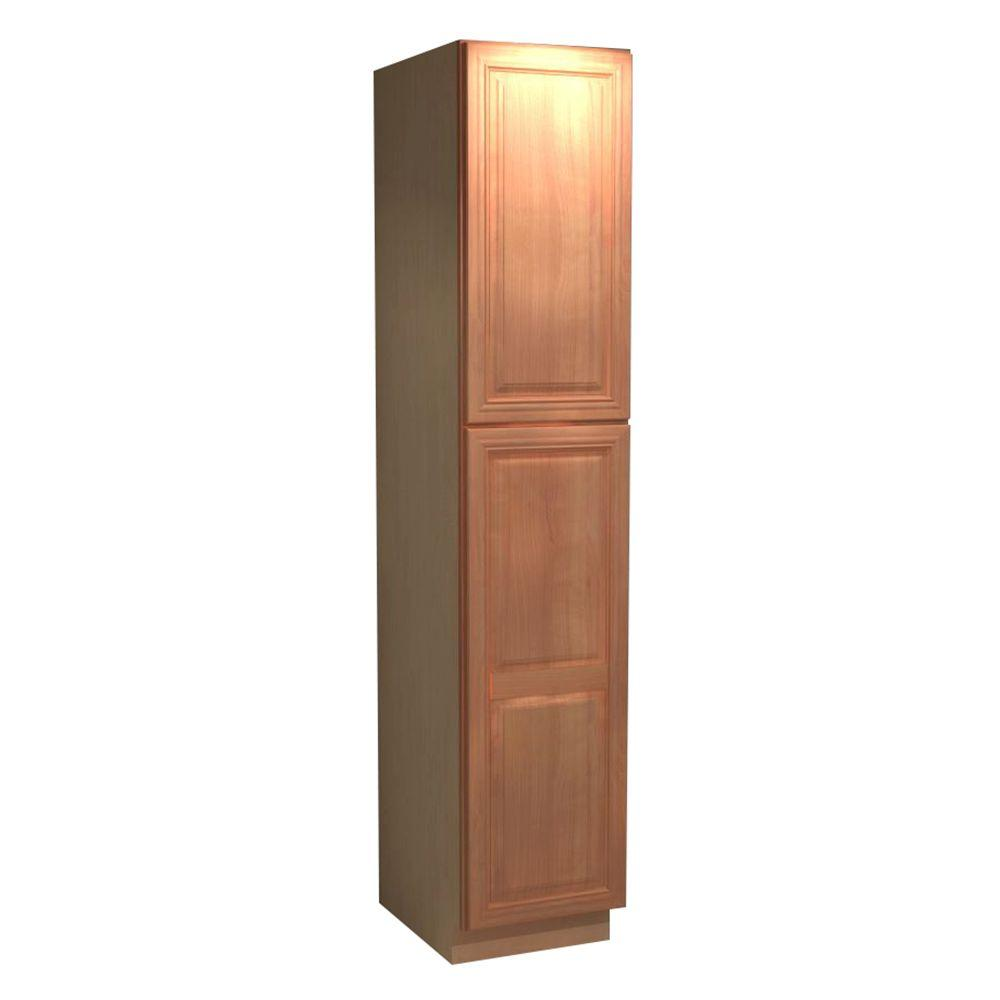 Home Decorators Collection Dartmouth Assembled 18 X 96 X 24 In Pantry Utility 2 Single Door 4