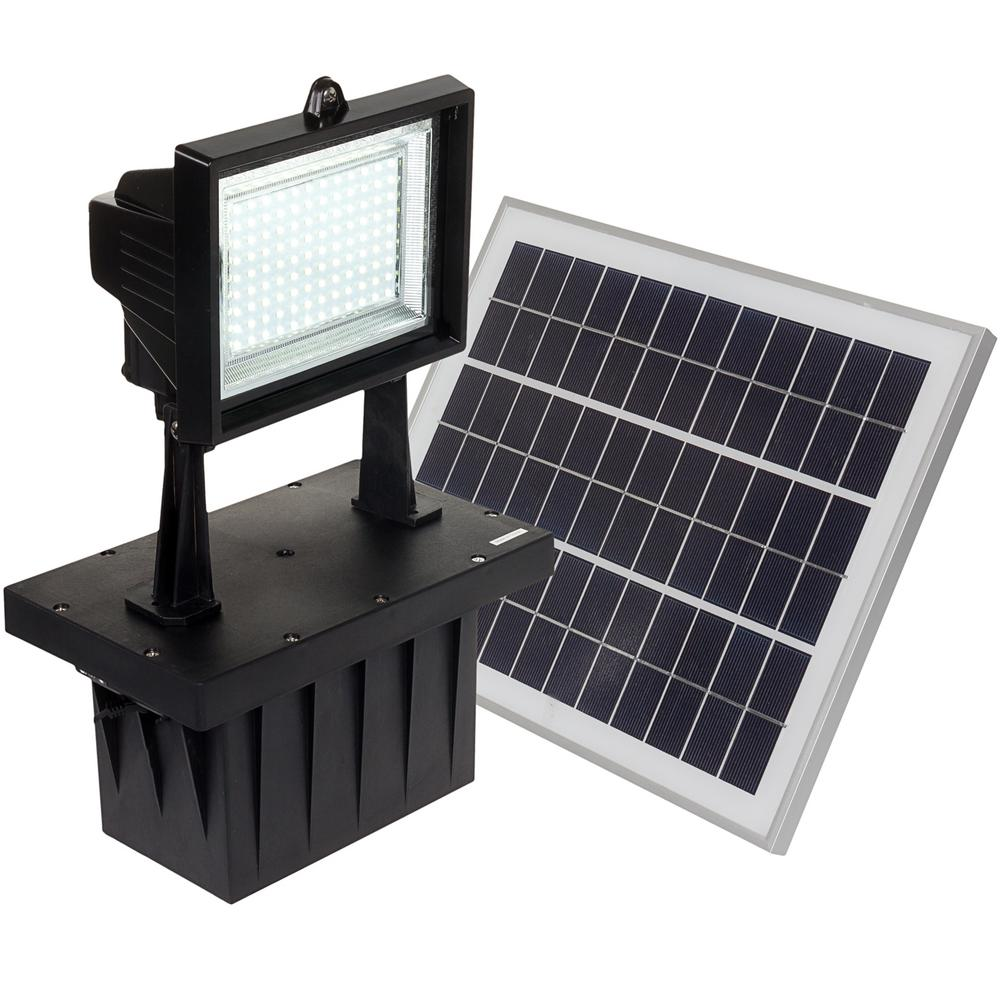 Reusable Revolution 5-Watt Black Solar Integrated LED