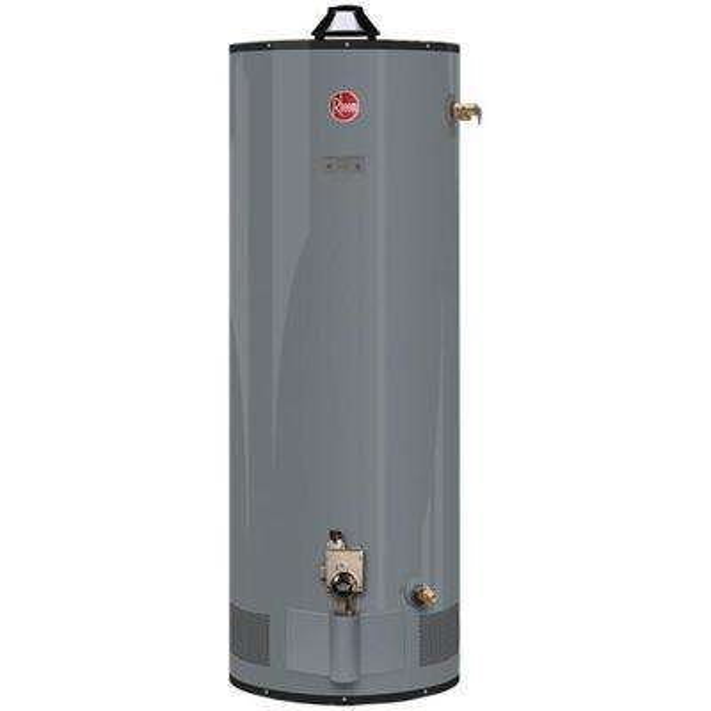 Commercial Medium Duty 100 Gal. 80K BTU Natural Gas Tank Water Heater