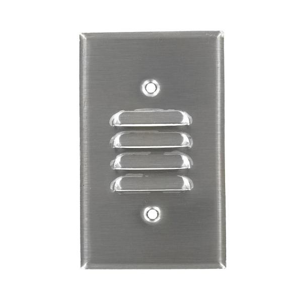 Stainless Steel 1-Gang Blank Plate Wall Plate (1-Pack)