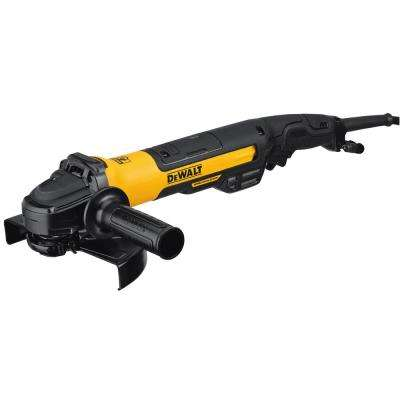 13-Amp Corded 7 in. Brushless Angle Grinder with Rat Tail