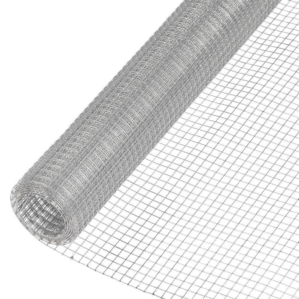 Everbilt 1/4 in. x 2 ft. x 5 ft. 23-Gauge Galvanized Steel Hardware ...