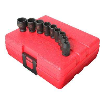 1/4 in. Drive Impact Socket Set (9-Piece)