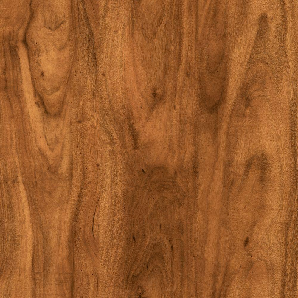 Trafficmaster south american cherry 7 mm thick x 7 2 3 in for Square laminate floor tiles