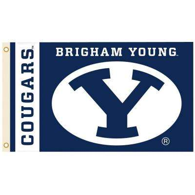NCAA 3 ft. x 5 ft. Brigham Young Flag