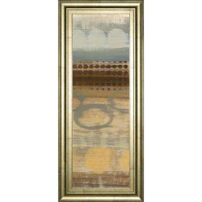 "18 in. x 42 in. ""Movement Panel II"" by Jeni Lee Framed Printed Wall Art"