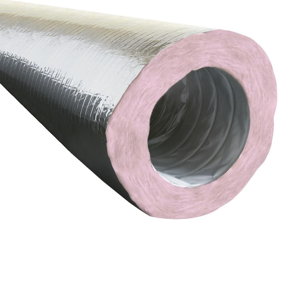 EverClean 8 in. x 25 ft. HVAC Ducting - R8