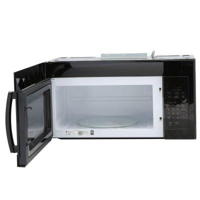 1.6 cu. ft. Over the Range Microwave in Black