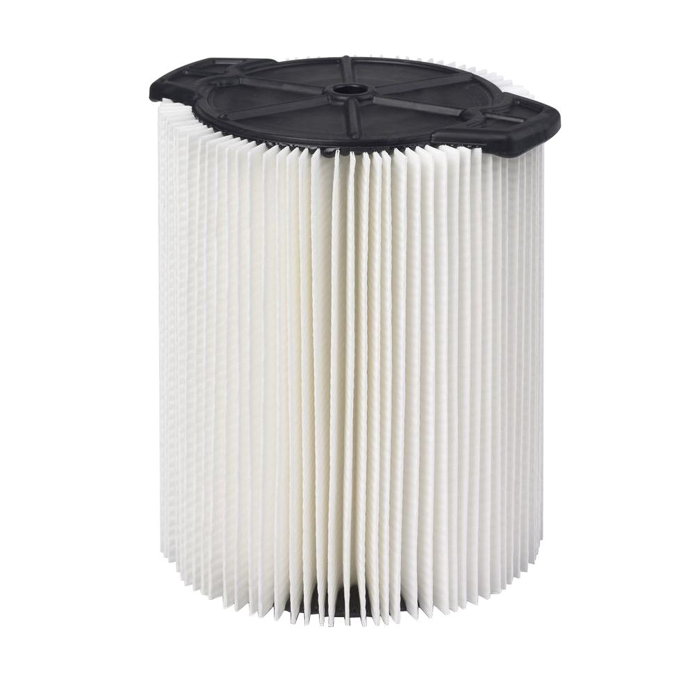 1-Layer Everyday Dirt Pleated Paper Filter for 5.0 Gal. Wet Dry