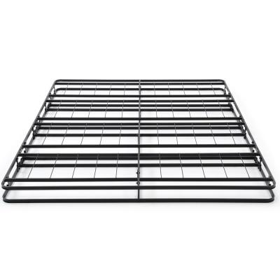 Instant Folding Queen Low Profile 4-Inch Mattress Foundation Box Spring Replacement