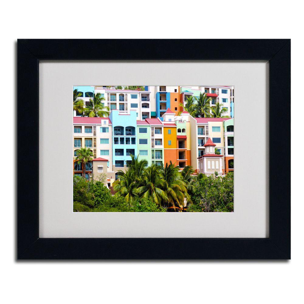 Trademark Fine Art 11 in. x 14 in. Virgin Islands 2 Matted Framed Art
