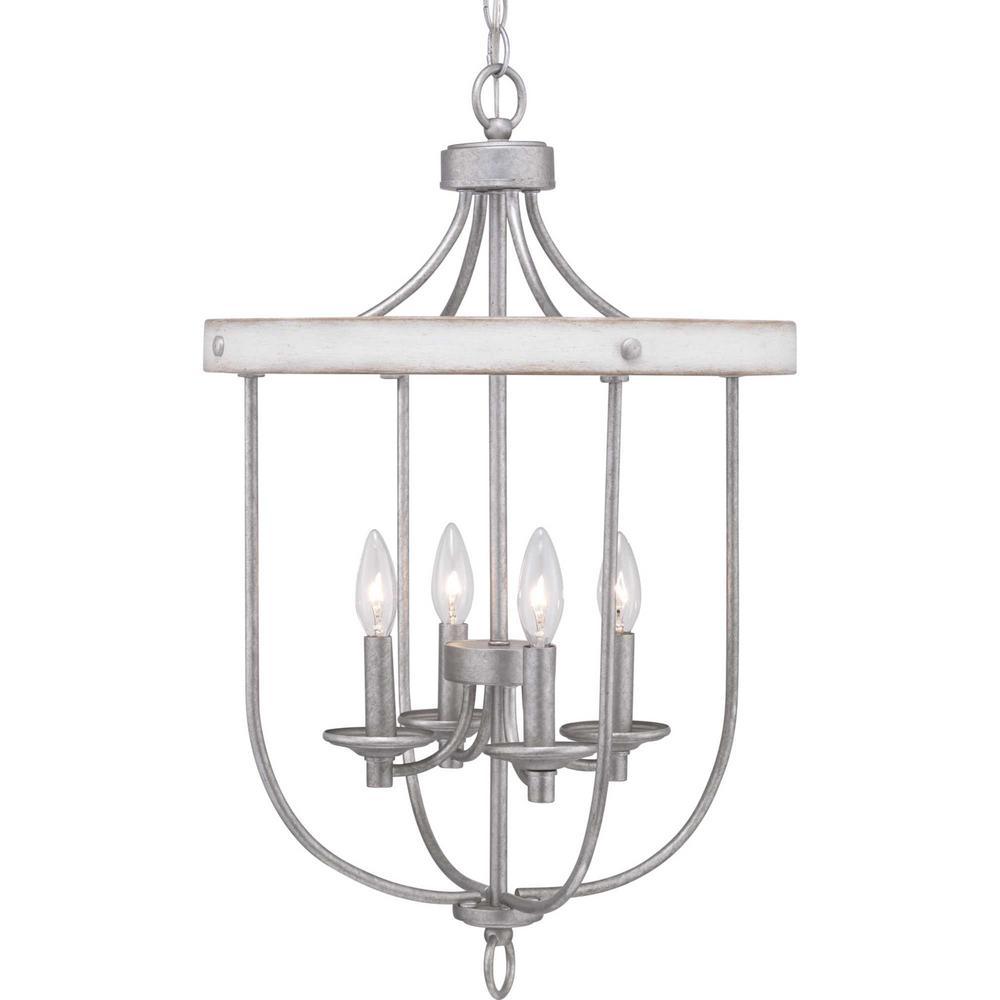 Gulliver Collection 4-Light Galvanized Pendant