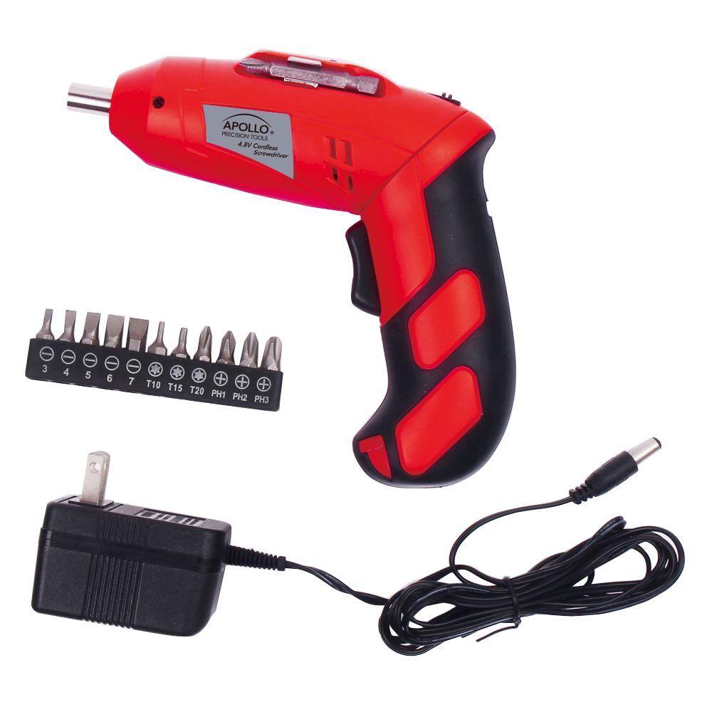 4.8-Volt Rechargeable Cordless Screwdriver