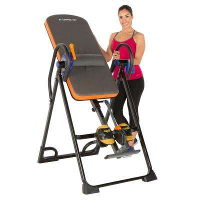 Exerpeutic 975SL All Inclusive Extra Capacity Inversion Table with Air Soft Ankle Cushions, SureLock and iControl System