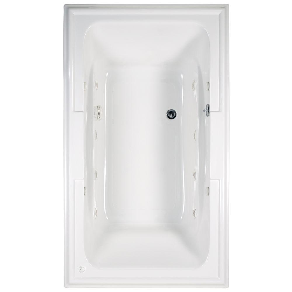 American Standard Town Square 6 Ft X 42 In Center Drain