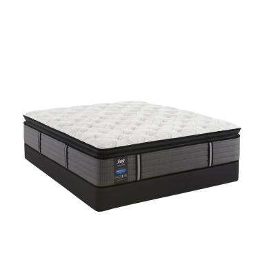 Response Premium 14 in. Queen Plush Euro Pillowtop Mattress with 9 in. High Profile Foundation Set