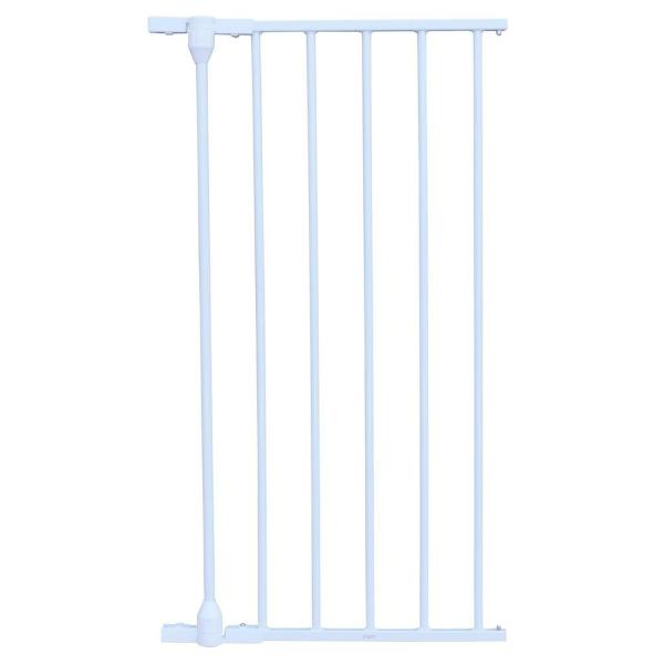 29.5 in. H x 15 in. W x 2 in. D Extension for XpandaGate Expandable Gate in White