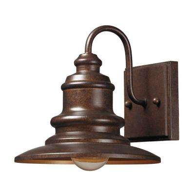 Marina 1-Light Hazelnut Bronze Outdoor Sconce