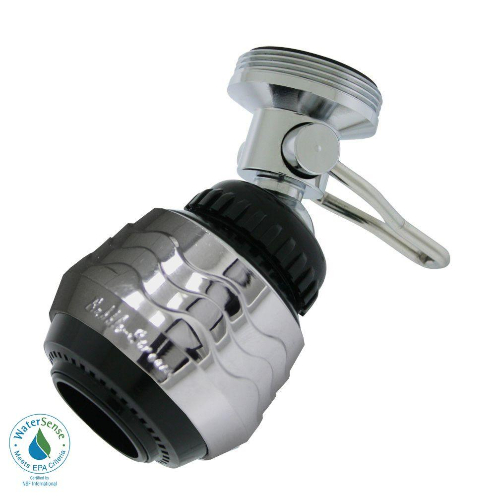 1.5 GPM Dual-Thread On/Off Water-Saving Swivel Spray Aerator