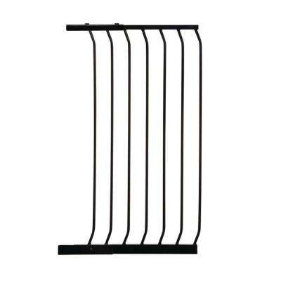 21 in. Gate Extension for Black Chelsea Extra Tall Child Safety Gate