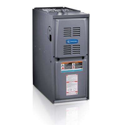 Signature 66,000 BTU 80% AFUE Multi-Position Multi-Speed Natural Gas Furnace with 17.5 in. Cabinet