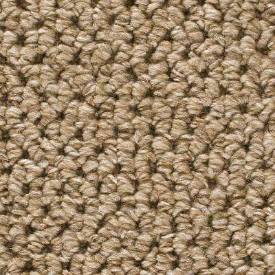 Corkwood - Color Tidewater Loop 12 ft. Carpet (1080 sq. ft./Roll)