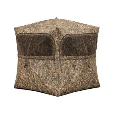 Grounder 350 Pop-Up Portable Ground Blind in BloodTrail Blades Camo