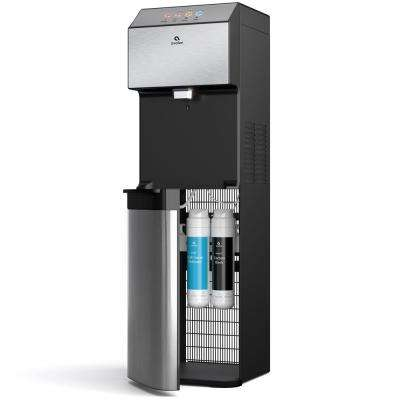 A13 Electric Bottleless Cooler Water Dispenser, Stainless Steel with 3 Temperatures, Self Cleaning