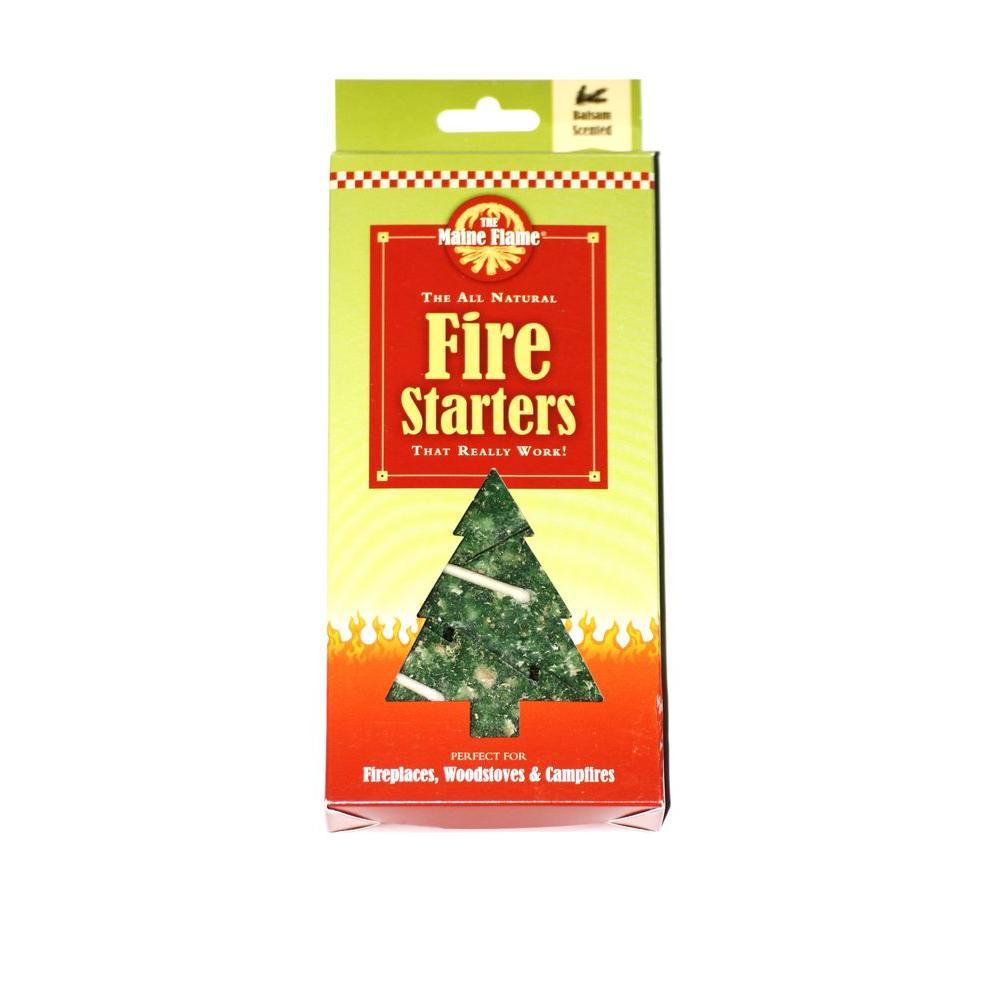 maine flame balsam scented fire starter 5 pack mf5 balsam the home depot. Black Bedroom Furniture Sets. Home Design Ideas