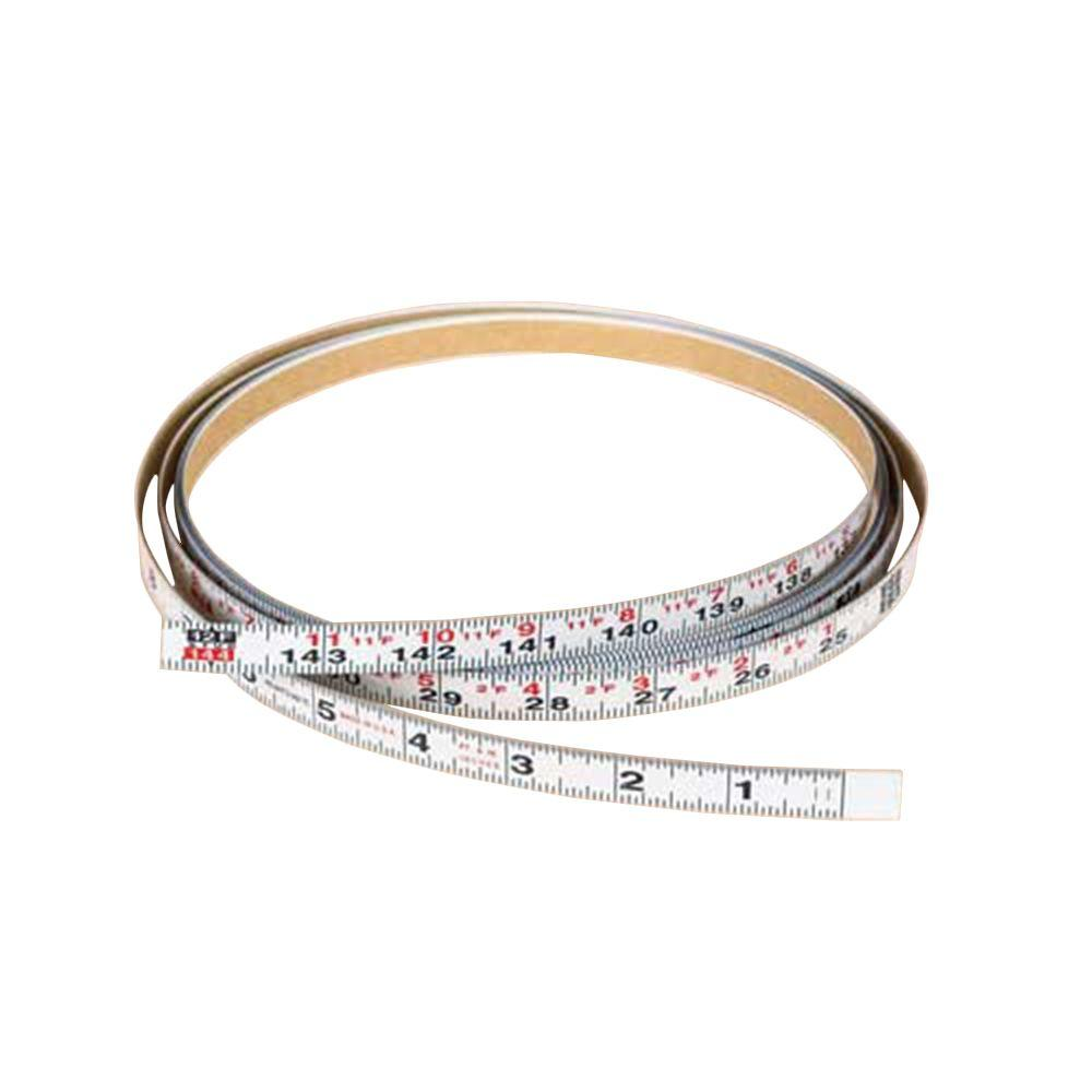 Delta 12 ft. x 1/2 in. Left Measuring Tape with English Units