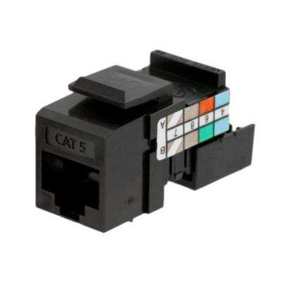 QuickPort CAT 5 Connector, Brown