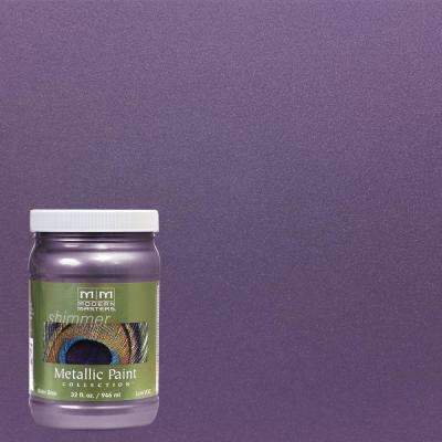 1 qt. Lilac Metallic Interior/Exterior Paint
