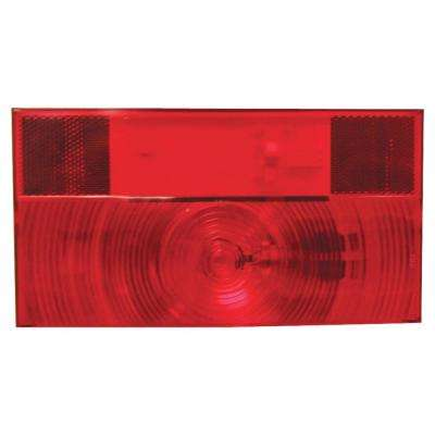 Stop, Turn and Tail Light with Reflex - Replacement Lens for V25911
