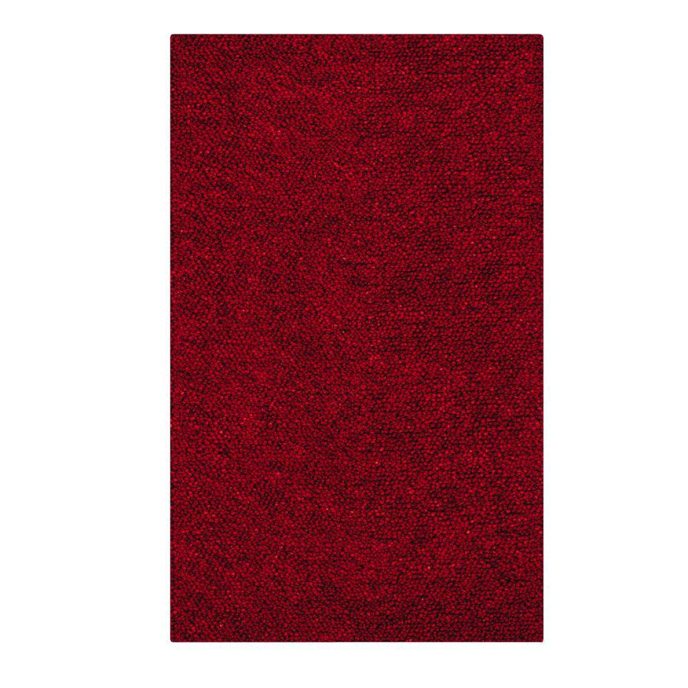 Home Decorators Collection Jolly Shag Red 2 Ft X 3 Ft