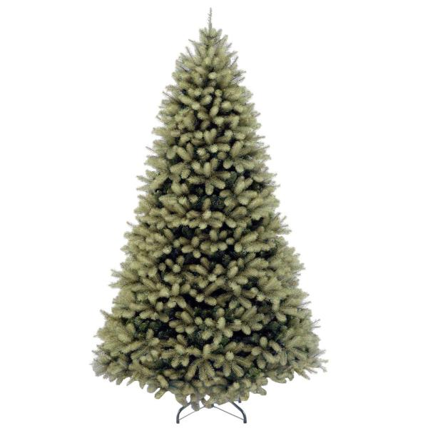 7 ft. Feel Real Down Swept Douglas Fir Hinged Artificial Christmas Tree