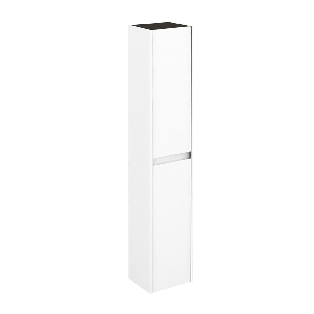 WS Bath Collections Ambra Column 11.8 in. W x 9.3 in. D x 59.1 in. H Wall Mount Bathroom Column in Gloss White