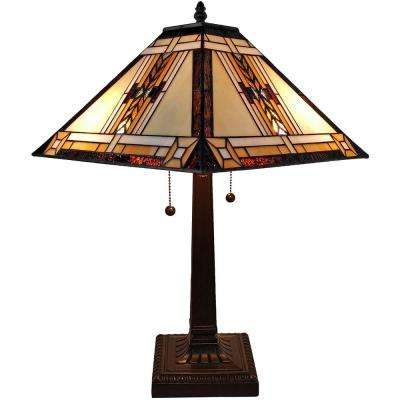22 in. Tiffany Style Mission Design Table Lamp