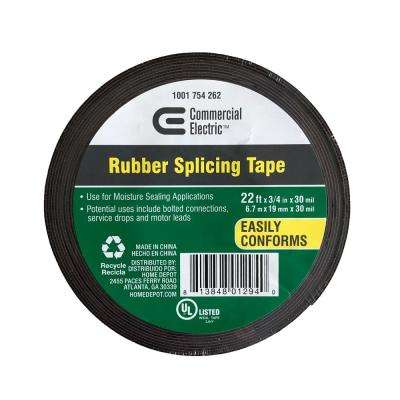 3/4 in. x 22 ft. Rubber Splicing Tape
