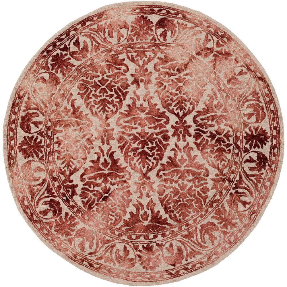 Chloe Rug From Organic By Artistic Weavers: Artistic Weavers Organic Evelyn Burgundy 6 Ft. X 6 Ft