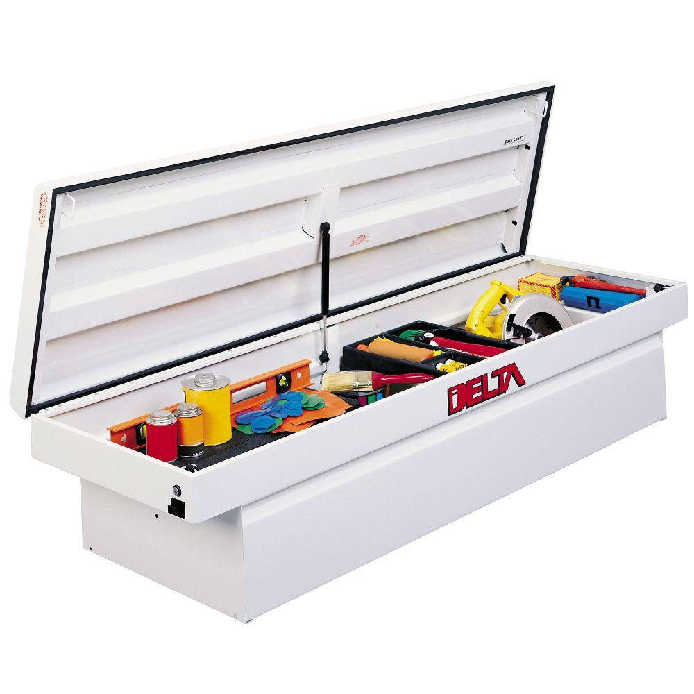 70 in. Steel Single Lid Full-Size Crossover Tool Box