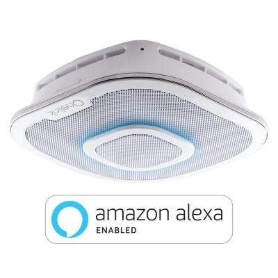 First Alert Onelink Safe and Sound Smart Hardwired Smoke and Carbon Monoxide Alarm with Amazon Alexa Enabled