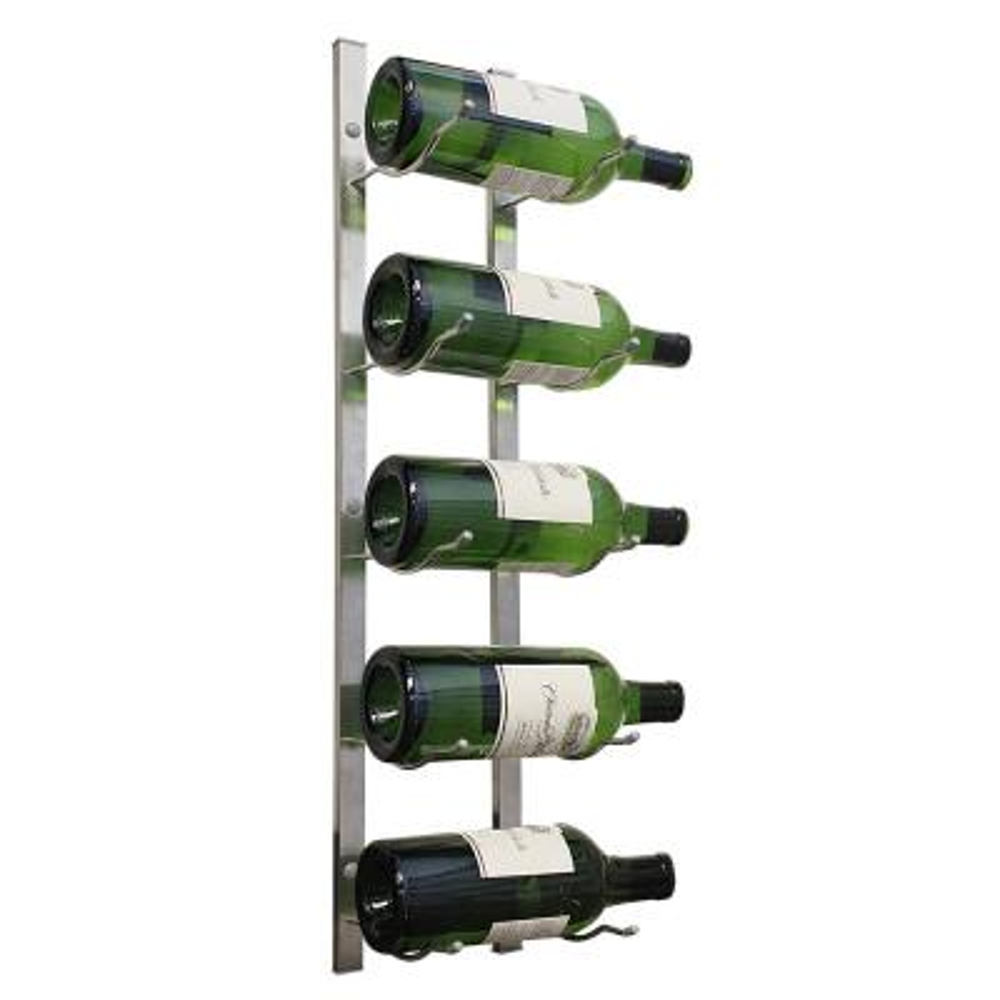 5-Bottle Magnum Metal Wine Rack