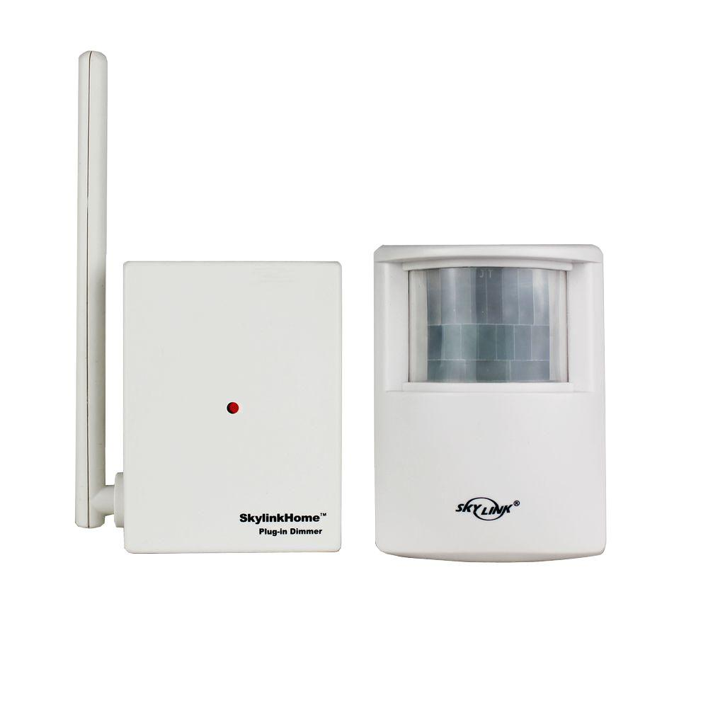 Plug In Motion Sensors Wiring Devices Light Controls The A Sensor Remote Controllable Wireless Activated Kit